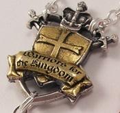 Ghirelli Custom Rosaries Warrior Rosary Shield